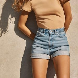 Urban Outfitters BDG Denim High-Waisted Mom Shorts